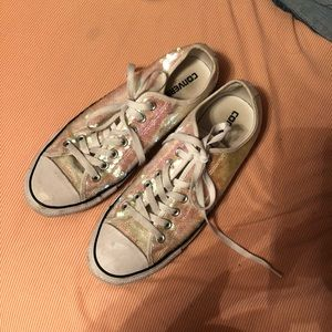 Sequined Converse